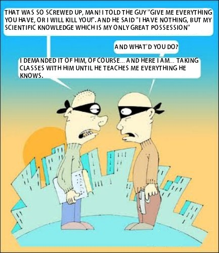 Scientific knowledge is currency
